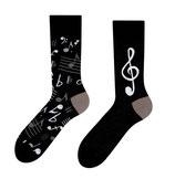 Musiknoten - one sock style