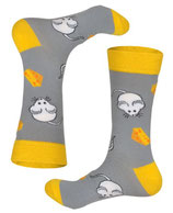 Socken mit Mäusen