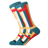 Business Socken, Tapetron, bunt