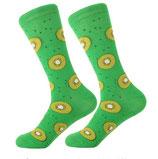 Socken mit Kiwi, grün