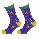 Socken mit Geschenken