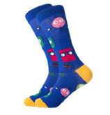 Socken mit Monster