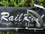 """Jaws Fishing Rail Rod 7'3"""" [50lbs – 120lbs]"""
