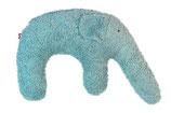 """Kuschelkissen """"Elefant"""" eisblau"""
