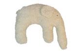 """Kuschelkissen """"Elefant"""" naturweiss"""