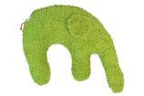 """Kuschelkissen """"Elefant"""" grün"""
