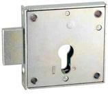 Boîtier Verrou pêne 8 mm pour cylindre européen