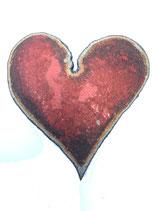 Un cœur découpé dans une bouteille de gaz !