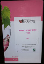 """Rosé """"Domaine de la Barotte"""", IGP du Gard (Südfrankreich), biologisch"""