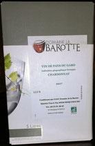 "Weiß ""Domaine de la Barotte"", IGP du Gard (Südfrankreich), biologisch"