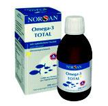 Omega 3 total 200ml Öl Norsan Zitronengeschmack