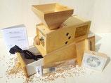 Getreidemühle Widu Widukind 180g/Minute Ölsaaten verarbeitbar Birkenholz Modell II