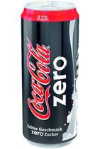 coca cola zero dose 33cl