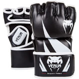 VENUM MMA BLACK/WHITE CHALLENGER FIGHT GLOVES - 4OZ