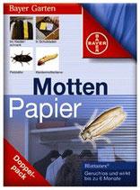 Bayer Mottenpapier 2x10 Stück