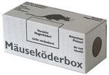 Nagerbox Maus o. Fenster ohne Lasche grau