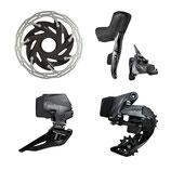 SRAM Force eTap AXS Upgrade-Kit HRD 2x12, hydr. Scheibenbremse, Flatmount