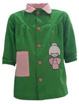 00060100 Babi colegio Geisha verde andalucía combinado con rosa palo