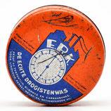 Blikje E.R.K. - De Echte Drogistenwas - Chemische Fabriek Eureka Leimuiden