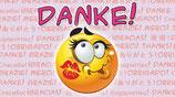 """Flaschenpost Smiley """"DANKE!"""""""