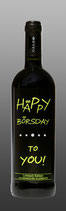 Wein ''Häppy Börsday to you''