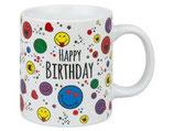 Tasse Smiley - Happy Birthday Wächtersbach