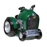 Spardose Traktor grün
