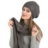 Winter Schal mit Metallic Optik
