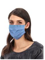Behelfsmundschutz  Blau
