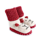 Strickschuhe Little Lion / Rot