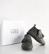 Chelsea Boots fringed  |Dark Grey