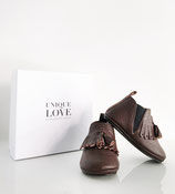 Chelsea Boots fringed   Chocolate