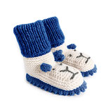 Strickschuhe Little Lion / Navy