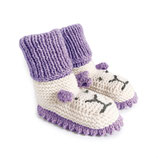 Strickschuhe Little Lion / Lila