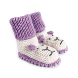 Strickschuhe Little Lion / Flieder