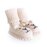 Strickschuhe Little Lion / Creme
