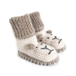 Strickschuhe Little Lion / Sand