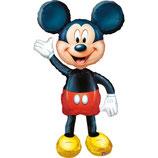 1 Laufender Ballon - Ø 132cm - Mickey Mouse