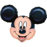 1 Folienballon-Micky/Minnie Maus - Ø 69cm