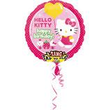 1 Musikballon - Ø 71cm – Hello Kitty