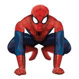 1 Laufender Ballon – Ø 91cm- Spiderman