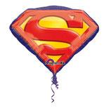 Folienballon-Superman Emblem- Ø 66cm