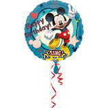 1 Musikballon - Ø 71cm – Micky Maus
