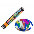 Konfetti-Kanone Folie mehrfarbig 30cm
