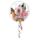 1 Musikballon - Ø 71cm - Hund