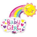 Baby Girl/Boy - glückliche Sonne