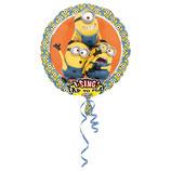 1 Musikballon - Ø 71cm – Minion