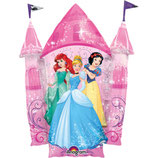Folienballon - Disney - Prinessinnen - Schloss - Ø 88cm