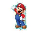 Folienballon -Super Mario- Ø 83cm