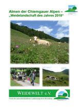 Weidelandschaft des Jahres 2018: Almen der Chiemgauer Alpen